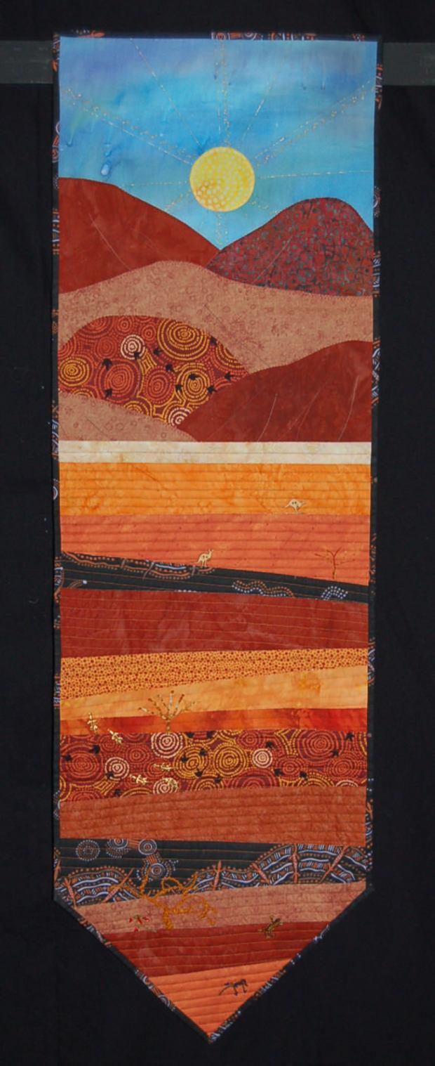 E05 1st Childrens Category- Aboriginal Sunset - Alice Brankin