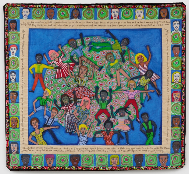 faith-ringgold-ancestors-part-ii-2017-acrylic-on-canvas-with-pieced-border-144.8-x-157.5-cm._c-faith-ringgold.-courtesy-pippy-houldsworth-gallery-london-and-aca-galleries-new-york